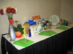 6 steps to a good event:  snacks, cleaner station, car fresher station...