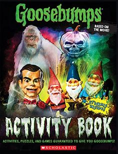 Who wrote the goosebumps books