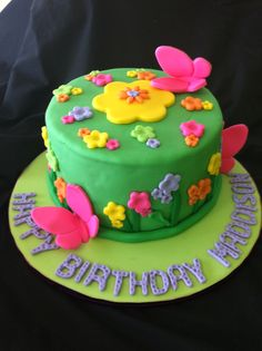 "Sublime Cake Creations  ""Butterfly garden"""