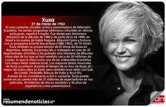 #Nacimiento   #Xuxa - #Actriz #Cantante #Presentadora #Brasil #LaReinaDeLosBajitos