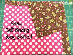 Half Hour Baby Blanket Pattern | AllFreeSewing.com