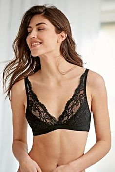 1b73fe8db5 Buy Women s lingerie Lingerie Nonwired Nonwired Black Black Bras Bras from  the Next UK online shop