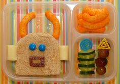 Cute kids lunch ideas revolving around a letter