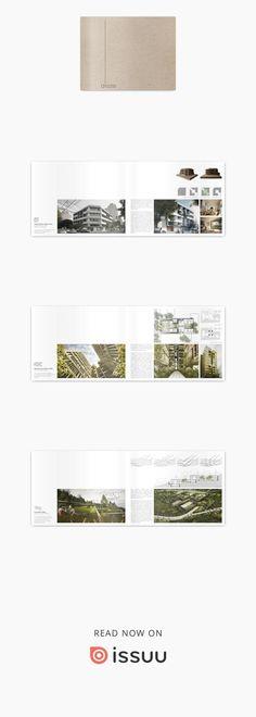 Portafolio Arquitectura. Olivia Hansberg