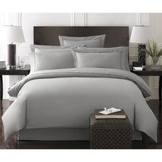 Bamboo Duvet Set Bedding Set by Kassatex - Nestled into the Bamboo Bedding by Kassatex you're sure to sleep better at night. Not only does this collection have a luxuriously soft 300 thread...
