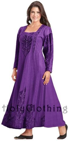 Shop Morgana Medieval Velvet Satin & Lace Tudor Gown In Purple Fuchsia: http://holyclothing.com/index.php/morgana-medieval-velvet-satin-lace-tudor-princess-dress-gown.html From $64.99. Repins are always appreciated :) #holyclothing #fashion