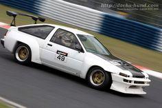 Toyota Sprinter Trueno (AE86) Race Car