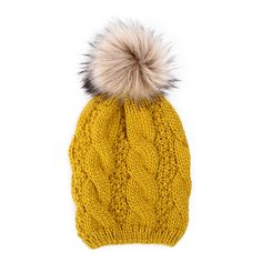 Winter Hats, Fall Winter, Autumn, Aw 2014, Mountain Hiking, Plait, Beanies, Knitted Hats, Faux Fur