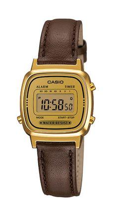 Casio Armbanduhr  LA670WEGL-9EF mit 100 Tagen Rückgabe und Tiefpreisgarantie für nur 49,90 EUR bei Uhren4You.de bestellen
