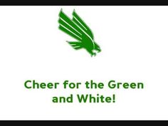University of North Texas Mean Green  - fight song with words - UNT Fight Song