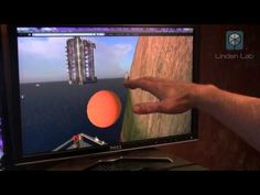 Using Leap Motion to control Second Life