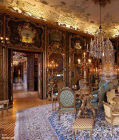 Chanel Runway  - Rococo castle Schloss Leopoldskron, Salzburg,