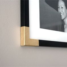 Transform any cheap frame using painter's tape and spray paint!