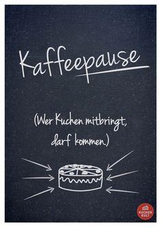 Visual Statement, Kuchen Sprueche