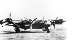 The Messerschmitt Me 264, designed to be able to reach America's East Coast from Europe