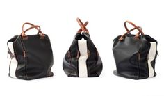 BAG 2.0 CLASSIC Black / White   Designed and Made in Italy