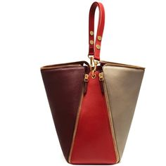 Mulberry Camden (€1.685) in 3 colours. Red, burgundy and off-white