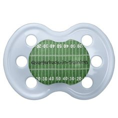 Football Field Design Pacifier