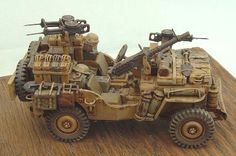 Track48 - REVIEWS/ARTICLES/GALLERIES - Reviews Complete Kits - SAS Jeep by Thierry Draye