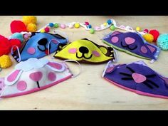 😷 Reusable mask without a sewing machine 😷 S, M, L sizes (for children, teenagers and adults) Dress For Girl Child, Crochet Mask, Origami Bag, Felt Mask, Sewing To Sell, Mask For Kids, Mask Design, Cute Faces, Diy Clothes
