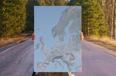 Map poster | Europe  #justmaps #map #poster #mapposter #print #gift #постер #affiche #Plakat #affisch