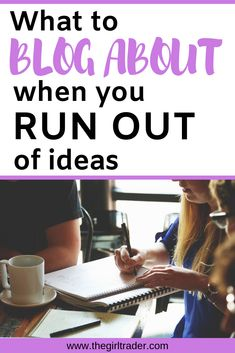 When you run out of ideas on what to blog, use these tips to help you come up with new and interesting content for your readers to ensure that they keep reading your blog for more #startablog #startamomblog Make Money From Home, How To Make Money, How To Become, Becoming A Blogger, Run Out, Rich Dad, Blog Names, Budgeting Money, Be Your Own Boss