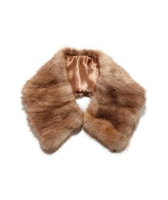 small fur collar