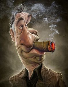 Amazing Caricatures of Famous People