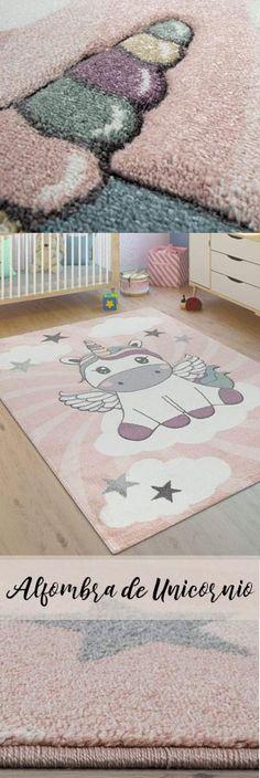 tama/ño:80x150 cm Paco Home Alfombra Infantil Colores Pastel Dise/ño Perros Corazones Beige Turquesa Rosa