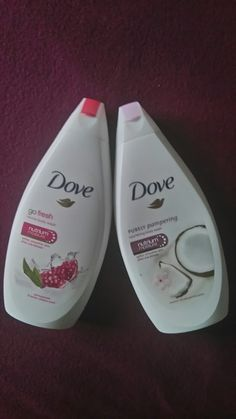Dove body wash  Nutruim moisture series