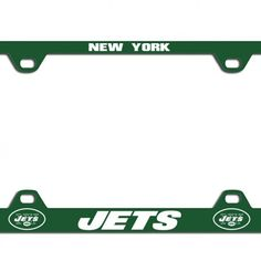This NFL officially licensed license plate frame by Fremont Die has a long-lasting logo that is laser engraved. $24.99