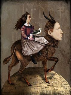 View The storyteller by Catrin Welz-Stein and purchase the artwork as fine art print, canvas and framed wall art Wassily Kandinsky, Photoshop, Illustrations, Illustration Art, Digital Collage, Digital Art, Claudia Tremblay, Image Originale, Pop Surrealism