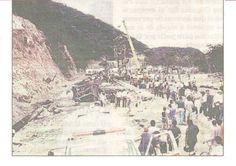 Tragedia en la ARC explosion de ducto de gas PDVSA año 1993