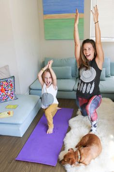 Yoga with Kids - Fall Flow