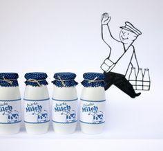 raumdinge: Kaufladensachen zum Selbermachen: Nr.1 - die Milchflasche
