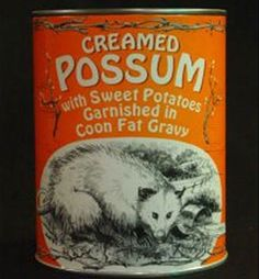 Creamed Possum:: 26 of the Most Disturbing Canned Foods | The Savory