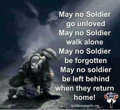 May they always be appreciated; those who went before and those that will go to defend our freedom.