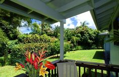 Hanalei Vacation Rental - VRBO 30295 - 1 BR North Shore Cottage in HI, North Shore Cottage Rental - Beautiful Tropical Surroundings!