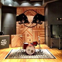 Here's Red Bull's gorgeous LA recording studio.