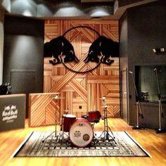 Here's Red Bull's gorgeous LA recording studio.