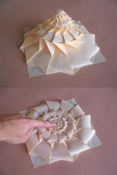 Origami Maniacs: Origami Flower Tower By Chris Palmer