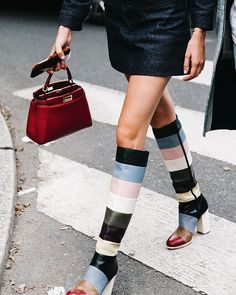Valentino boots @juliasgall #mfw #streetstyle www.collagevintage.com