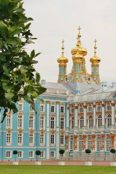 Catherine's Palace, Pushkin, Russia. #AmazingCastles #photography