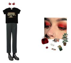 """girls girls girls"" by ninaaaquino ❤ liked on Polyvore featuring Dr. Martens, Theory, Vivienne Westwood, Gucci, Boohoo and Murdock London"
