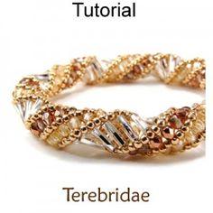 Terebridae Russian Spiral Stitch Beading Pattern Tutorial