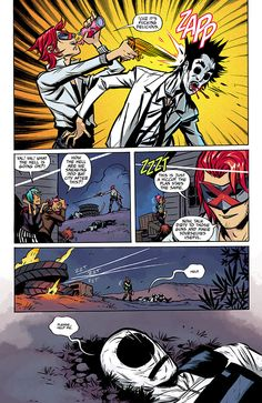 Page from The True Lives of the Fabulous Killjoys #5 by Becky Cloonan.