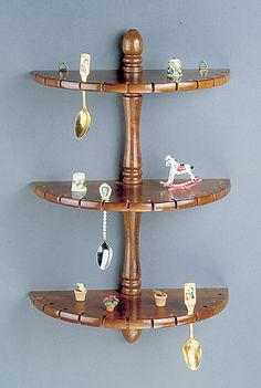 Spoon Racks - Half Round Shelves Spoon Rack