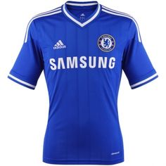 new Home and Away Shirt! Sport Football, Football Shirts, Chelsea London, Samsung, Home And Away, Html, Sports, Tops, Shirts
