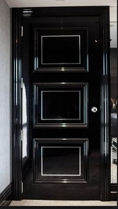Black Door Design For Bedroom.Door Designs: 40 Modern Doors Perfect For Every Home . Classic Home Home Bunch Interior Design Ideas. Green Interior Design For Your Home. Home and Family Home Design, Room Interior Design, Modern Design, Bath Design, Bespoke Design, Modern Kitchen Design, Modern Interior, Design Ideas, Casa Retro
