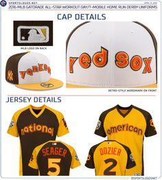 c7077a298 ASG workout day and Home Run Derby uniforms for 2016 in San Diego